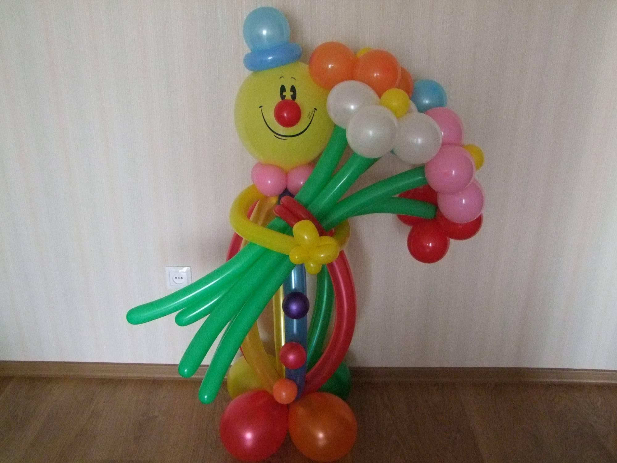 Как своими руками сделать клоуна из шаров своими руками
