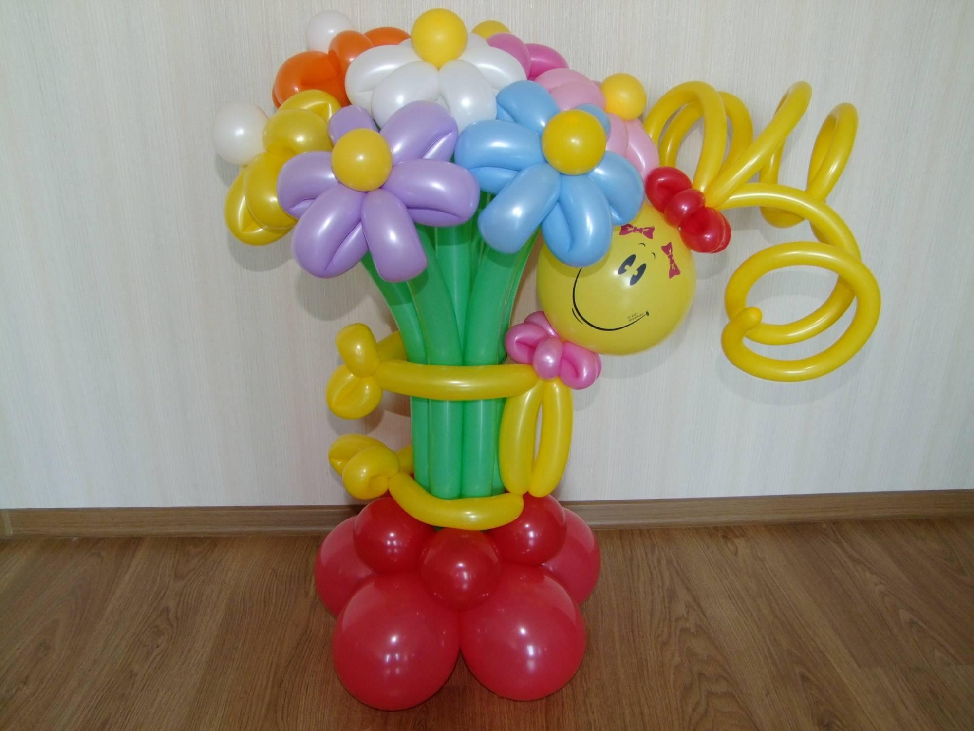 Фото подарки из воздушных шаров 84